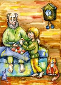 дедушкина сказка о братьях